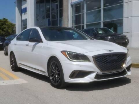 2018 Genesis G80 for sale at DORAL HYUNDAI in Doral FL