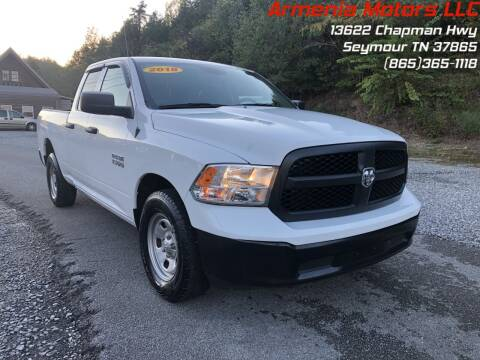 2018 RAM Ram Pickup 1500 for sale at Armenia Motors in Seymour TN