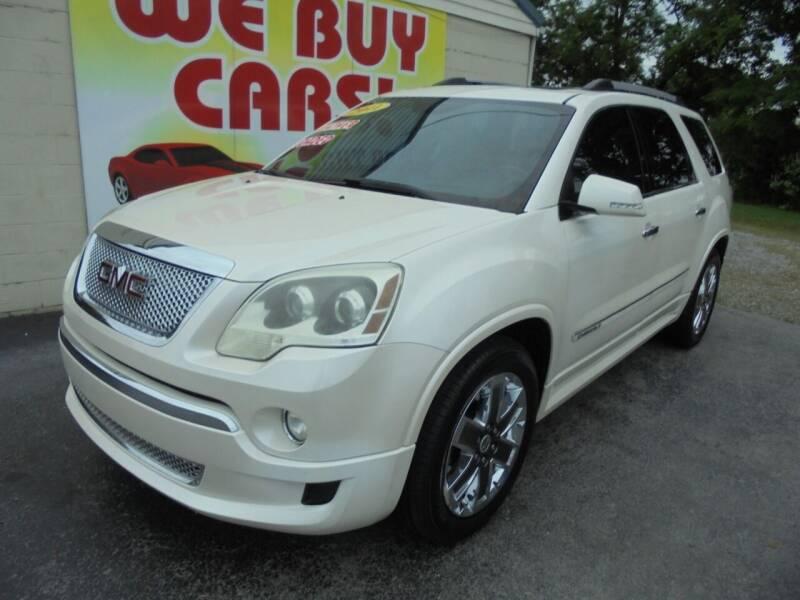 2011 GMC Acadia for sale at Right Price Auto Sales in Murfreesboro TN