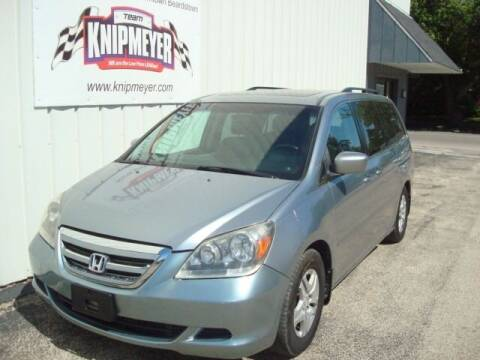2007 Honda Odyssey for sale at Team Knipmeyer in Beardstown IL
