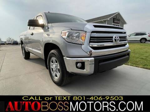 2015 Toyota Tundra for sale at Auto Boss in Woods Cross UT