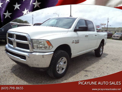 2017 RAM Ram Pickup 2500 for sale at PICAYUNE AUTO SALES in Picayune MS