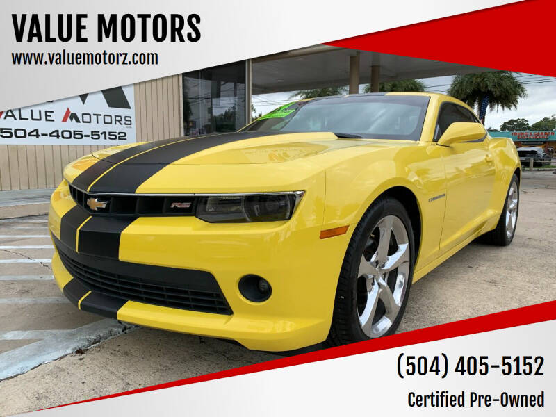 2014 Chevrolet Camaro for sale at VALUE MOTORS in Kenner LA