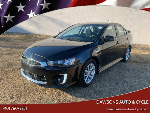 2016 Mitsubishi Lancer for sale at Dawsons Auto & Cycle in Glen Burnie MD