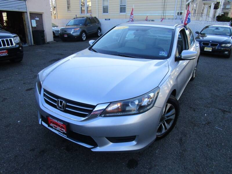 2014 Honda Accord for sale at Dina Auto Sales in Paterson NJ