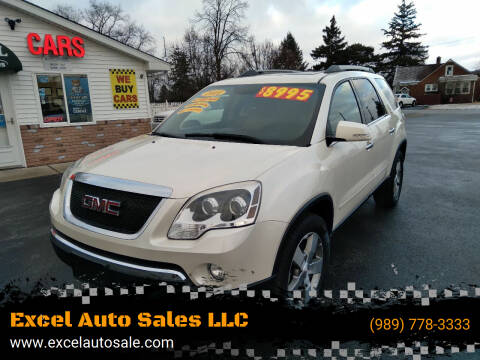 2011 GMC Acadia for sale at Excel Auto Sales LLC in Kawkawlin MI