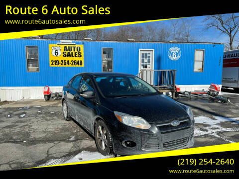 2013 Ford Focus for sale at Route 6 Auto Sales in Portage IN