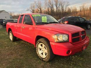 2007 Dodge Dakota for sale at FUSION AUTO SALES in Spencerport NY
