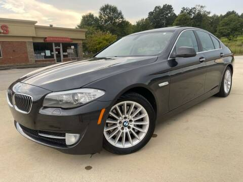 2012 BMW 5 Series for sale at Gwinnett Luxury Motors in Buford GA