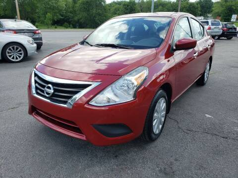 2015 Nissan Versa for sale at Auto Choice in Belton MO