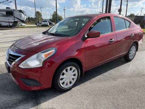 2017 Nissan Versa for sale at Modern Automotive in Boiling Springs SC