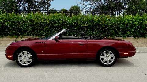 2004 Ford Thunderbird for sale at Premier Luxury Cars in Oakland Park FL