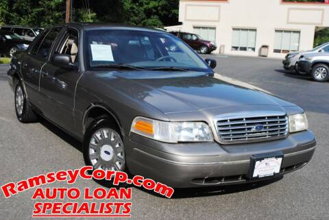 2004 Ford Crown Victoria for sale at Ramsey Corp. in West Milford NJ