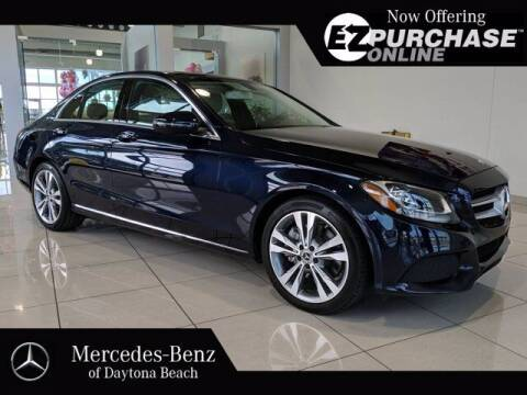 2017 Mercedes-Benz C-Class for sale at Mercedes-Benz of Daytona Beach in Daytona Beach FL