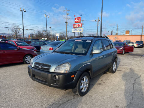 2005 Hyundai Tucson for sale at 4th Street Auto in Louisville KY