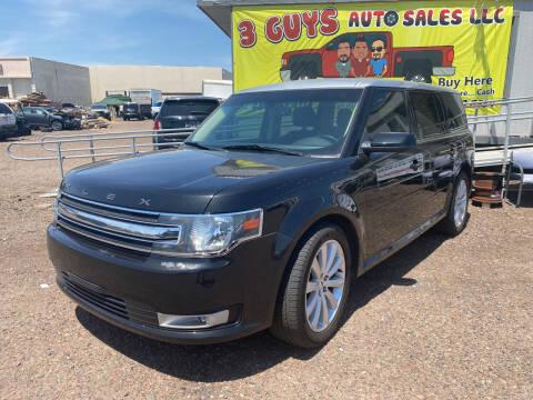 2014 Ford Flex for sale at 3 Guys Auto Sales LLC in Phoenix AZ