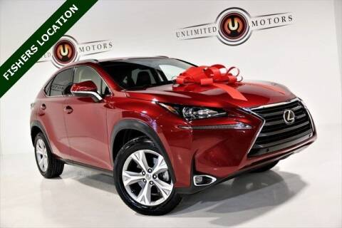 2017 Lexus NX 200t for sale at Unlimited Motors in Fishers IN