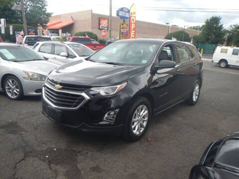2018 Chevrolet Equinox for sale at 103 Auto Sales in Bloomfield NJ