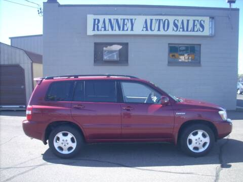 2006 Toyota Highlander for sale at Ranney's Auto Sales in Eau Claire WI
