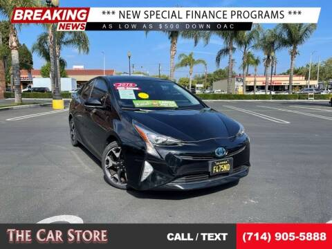 2016 Toyota Prius for sale at The Car Store in Santa Ana CA