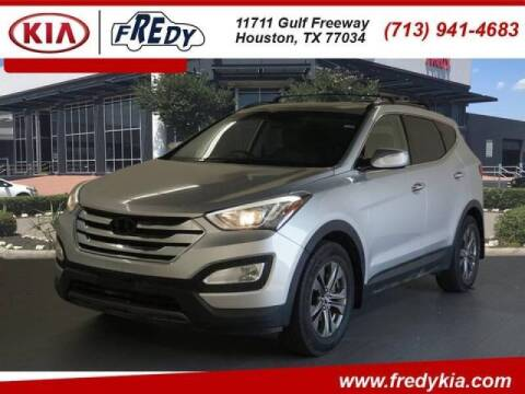 2014 Hyundai Santa Fe Sport for sale at FREDYS CARS FOR LESS in Houston TX