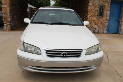 2001 Toyota Camry for sale at CANTWEIGHT CLASSICS in Maysville OK