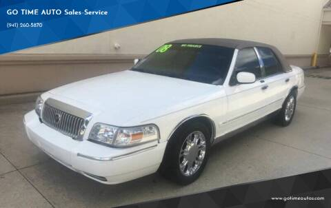 2008 Mercury Grand Marquis for sale at Go Time Automotive in Sarasota- Bradenton FL