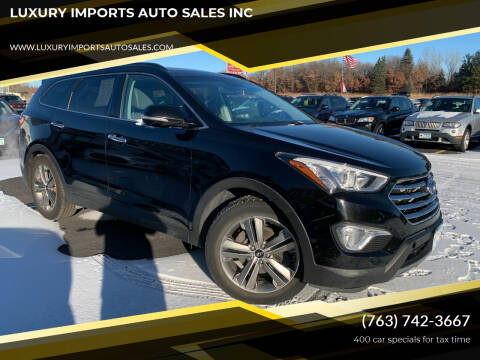 2013 Hyundai Santa Fe for sale at LUXURY IMPORTS AUTO SALES INC in North Branch MN