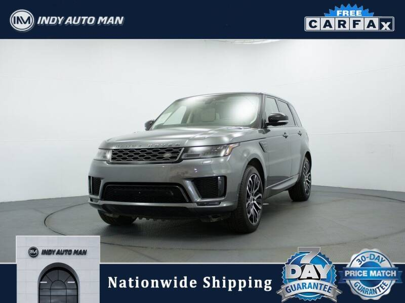 2018 Land Rover Range Rover Sport for sale at INDY AUTO MAN in Indianapolis IN