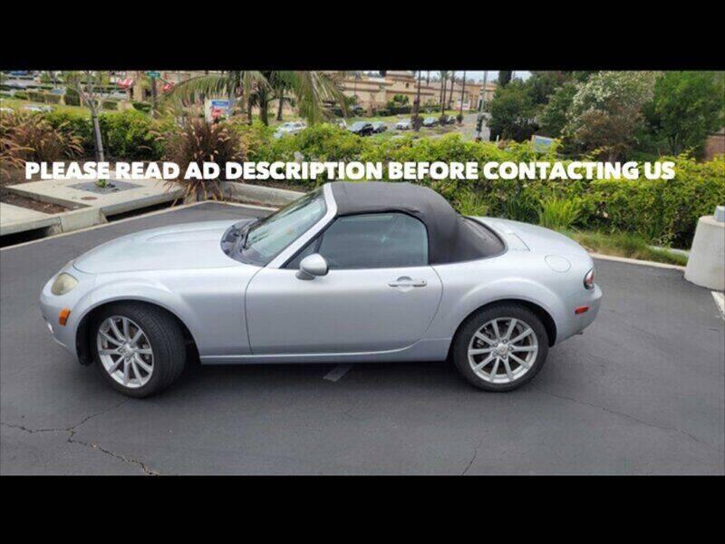 2008 Mazda MX-5 Miata for sale at Auto Advantage in Escondido CA