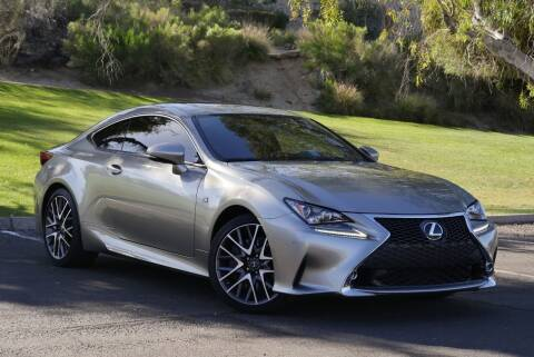 2015 Lexus RC 350 for sale at AZGT LLC in Phoenix AZ