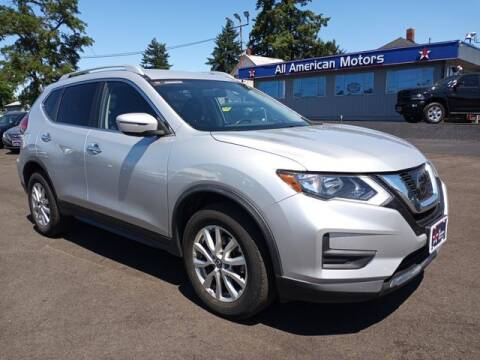 2017 Nissan Rogue for sale at All American Motors in Tacoma WA