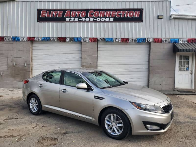 2012 Kia Optima for sale at Elite Auto Connection in Conover NC