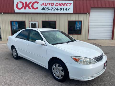 2003 Toyota Camry for sale at OKC Auto Direct in Oklahoma City OK
