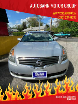2007 Nissan Altima for sale at Autobahn Motor Group in Willow Grove PA