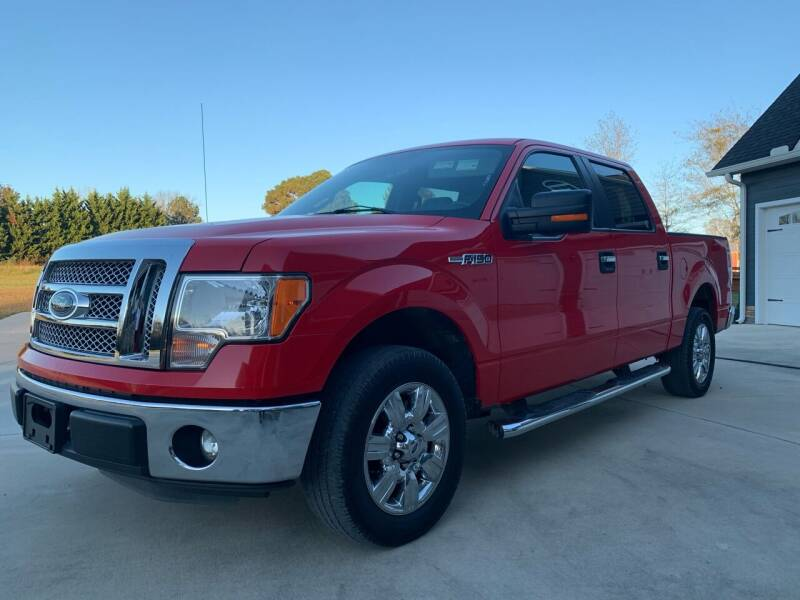 2011 Ford F-150 for sale at Ace Auto Sales - OUTSIDE FINANCEABLE CARS WITH 500+ CREDIT SCORES in Fyffe AL