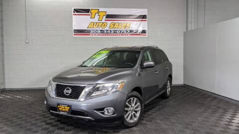 2015 Nissan Pathfinder for sale at TT Auto Sales LLC. in Boise ID