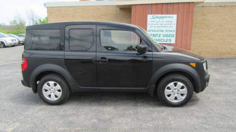 2006 Honda Element for sale at LENTZ USED VEHICLES INC in Waldo WI