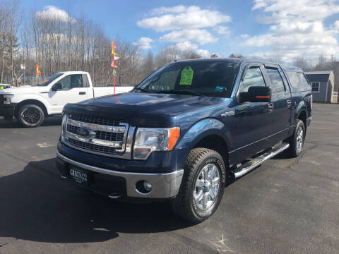 2014 Ford F-150 for sale at Greg's Auto Sales in Searsport ME