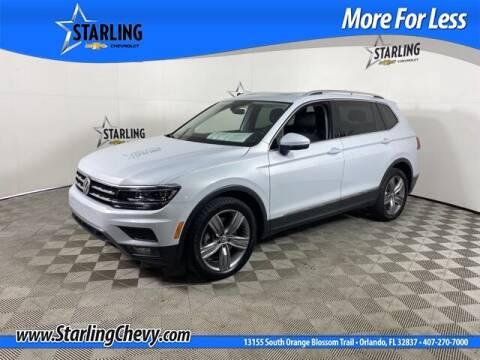 2018 Volkswagen Tiguan for sale at Pedro @ Starling Chevrolet in Orlando FL