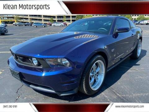 2010 Ford Mustang for sale at Klean Motorsports in Skokie IL