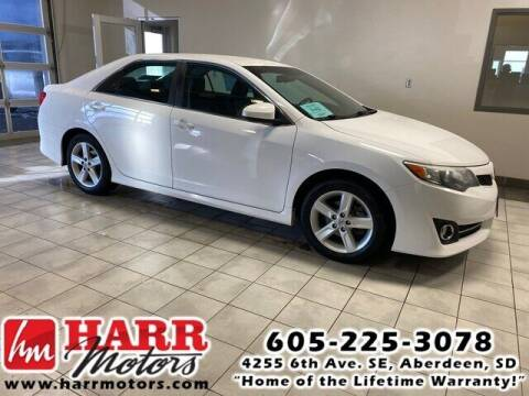 2012 Toyota Camry for sale at Harr's Redfield Ford in Redfield SD