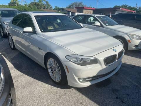 2011 BMW 5 Series for sale at P J Auto Trading Inc in Orlando FL