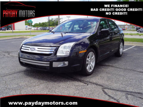2008 Ford Fusion for sale at Payday Motors in Wichita And Topeka KS