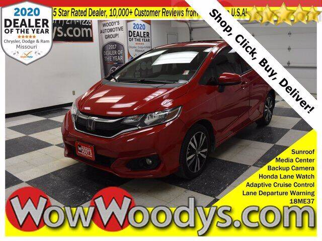 2018 Honda Fit for sale at WOODY'S AUTOMOTIVE GROUP in Chillicothe MO