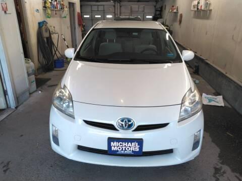2010 Toyota Prius for sale at MICHAEL MOTORS in Farmington ME