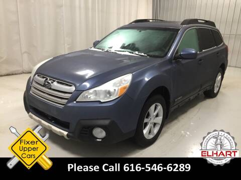 2013 Subaru Outback for sale at Elhart Automotive Campus in Holland MI
