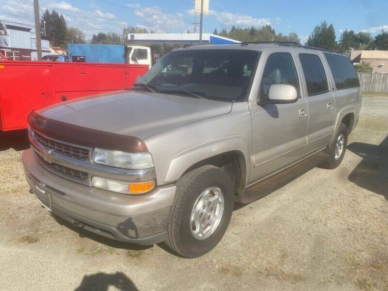 2004 Chevrolet Suburban for sale at MILLENNIUM MOTORS INC in Monroe WA