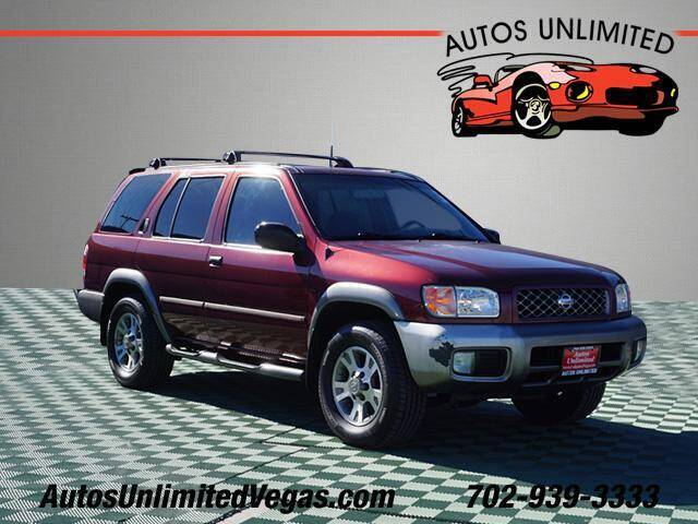 2001 Nissan Pathfinder for sale at Autos Unlimited in Las Vegas NV