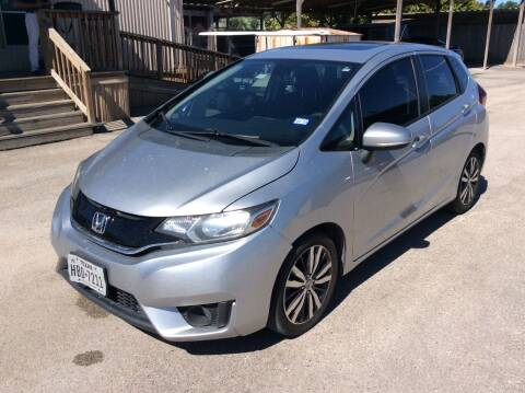 2015 Honda Fit for sale at OASIS PARK & SELL in Spring TX